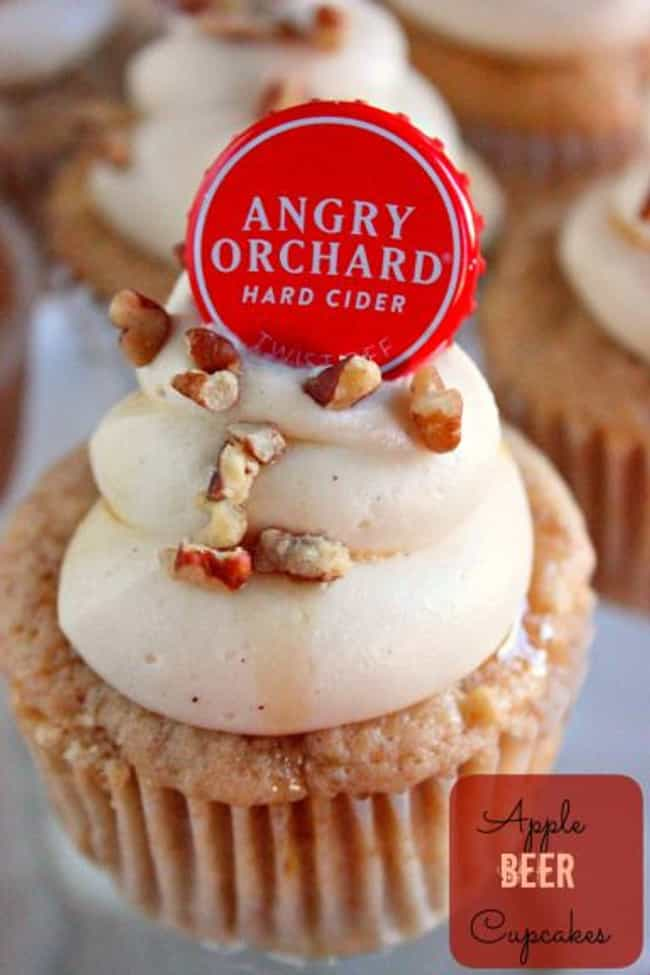 Apple Beer Cupcakes is listed (or ranked) 4 on the list 30 Epically Delicious Beer-Filled Desserts