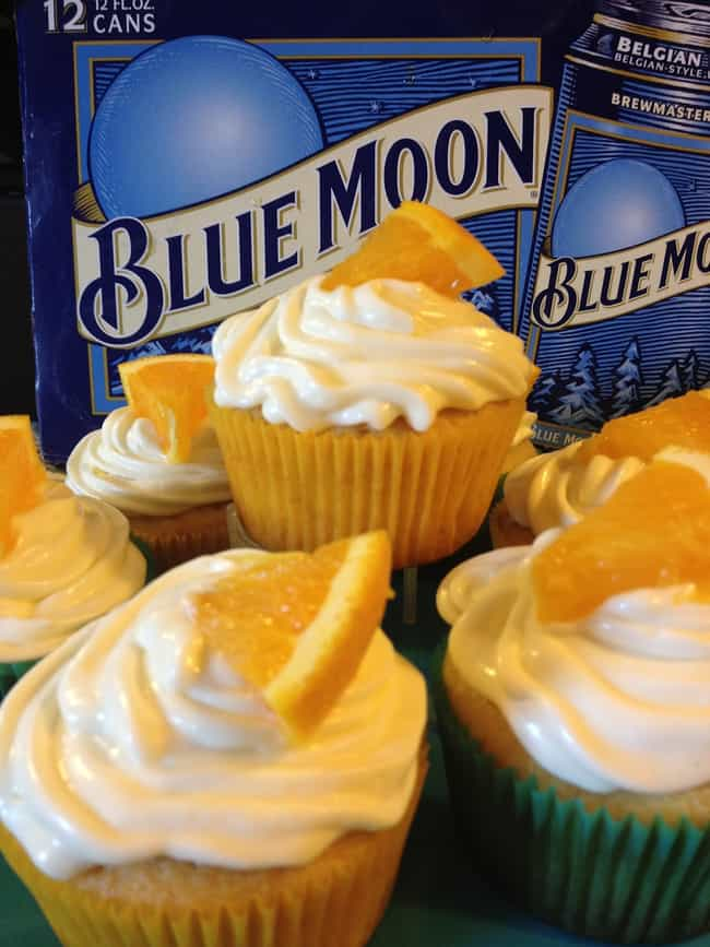 Blue Moon Cupcakes is listed (or ranked) 2 on the list 30 Epically Delicious Beer-Filled Desserts