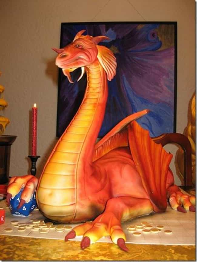 Dragon Cake is listed (or ranked) 2 on the list 40 of the Internet's Most Insane Cakes
