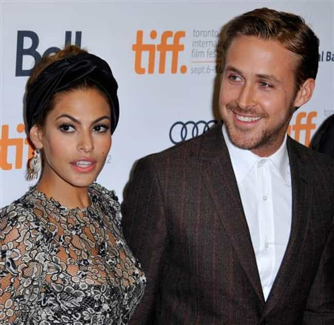 Ryan Gosling and Eva Men... is listed (or ranked) 3 on the list The Best Looking Celebrity Interracial Couples