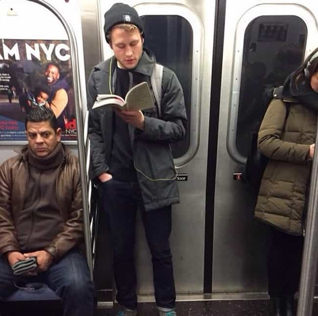 This Poetry-Reading Soul Is Al... is listed (or ranked) 2 on the list The Very Best of Hot Dudes Reading on Instagram