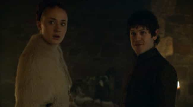 Ramsey and Sansa's Wedding Nig... is listed (or ranked) 1 on the list The 19 Most Uncomfortable Game of Thrones Moments