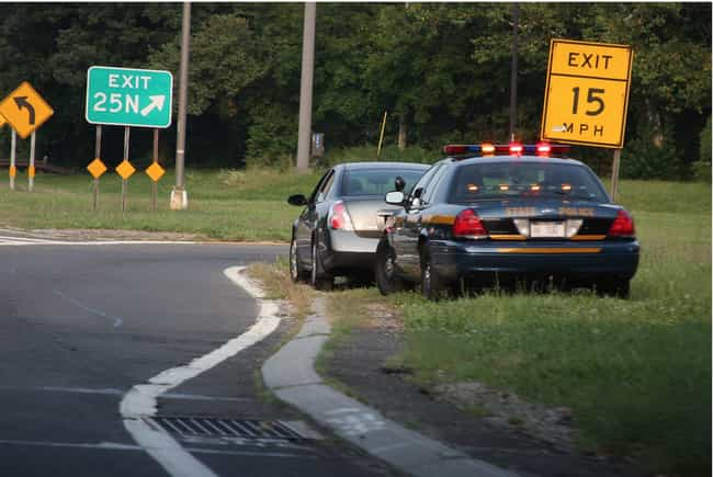 Stay In Your Car is listed (or ranked) 3 on the list What To Do If You Get Pulled Over