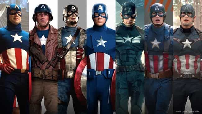 Captain America is listed (or ranked) 1 on the list The Most Patriotic Characters In Comics