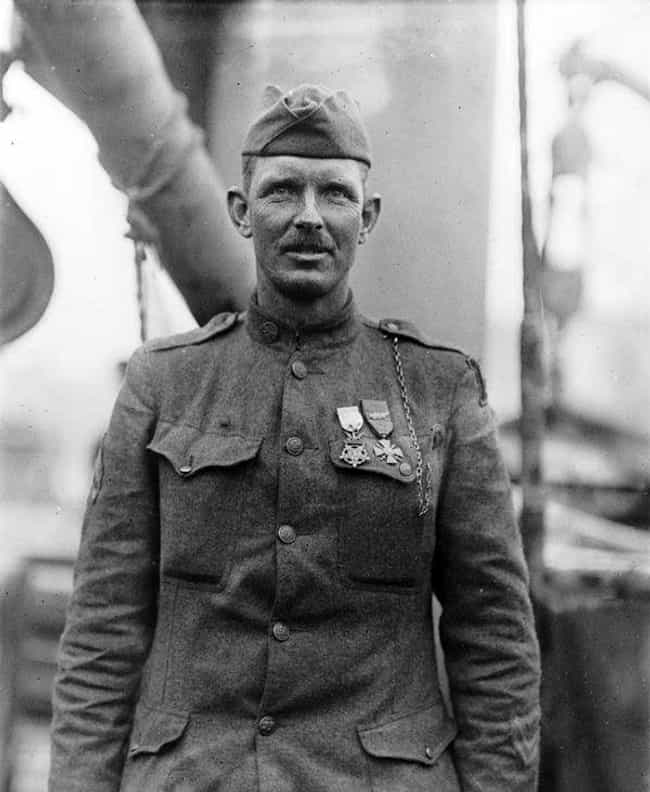 Alvin York is listed (or ranked) 4 on the list 15 Real Life Soldiers That Put Captain America To Shame