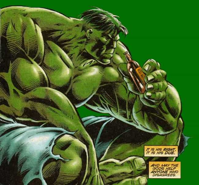 A Gamma Radiation is listed (or ranked) 3 on the list The Best Avengers-Inspired Drink Recipes