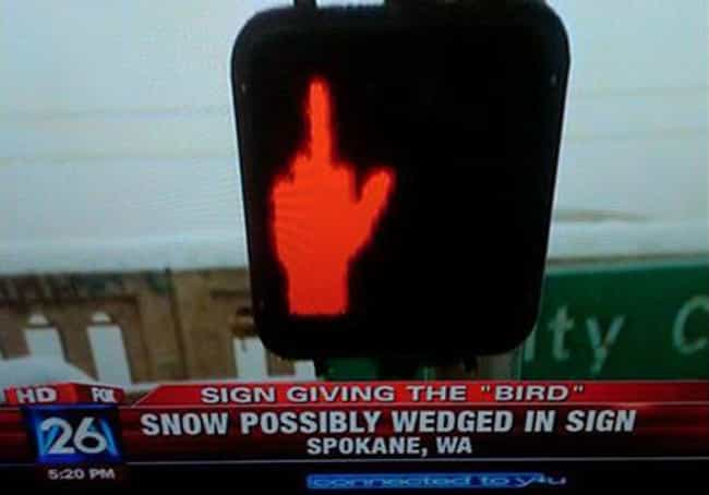 This Can't Possibly Be R... is listed (or ranked) 1 on the list 33 Funny Sign Burnouts That Are Definitely Sending The Wrong Message