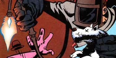 Dogwelder is listed (or ranked) 1 on the list The 30 Most Ridiculous Comic Book Characters Ever