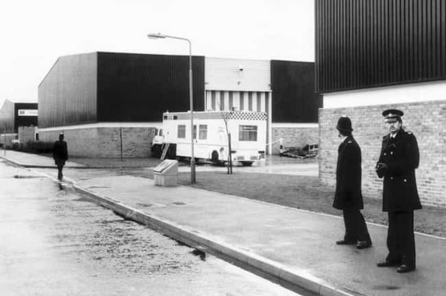 Brinks-MAT Robbery is listed (or ranked) 3 on the list The Most Daring Heists in History