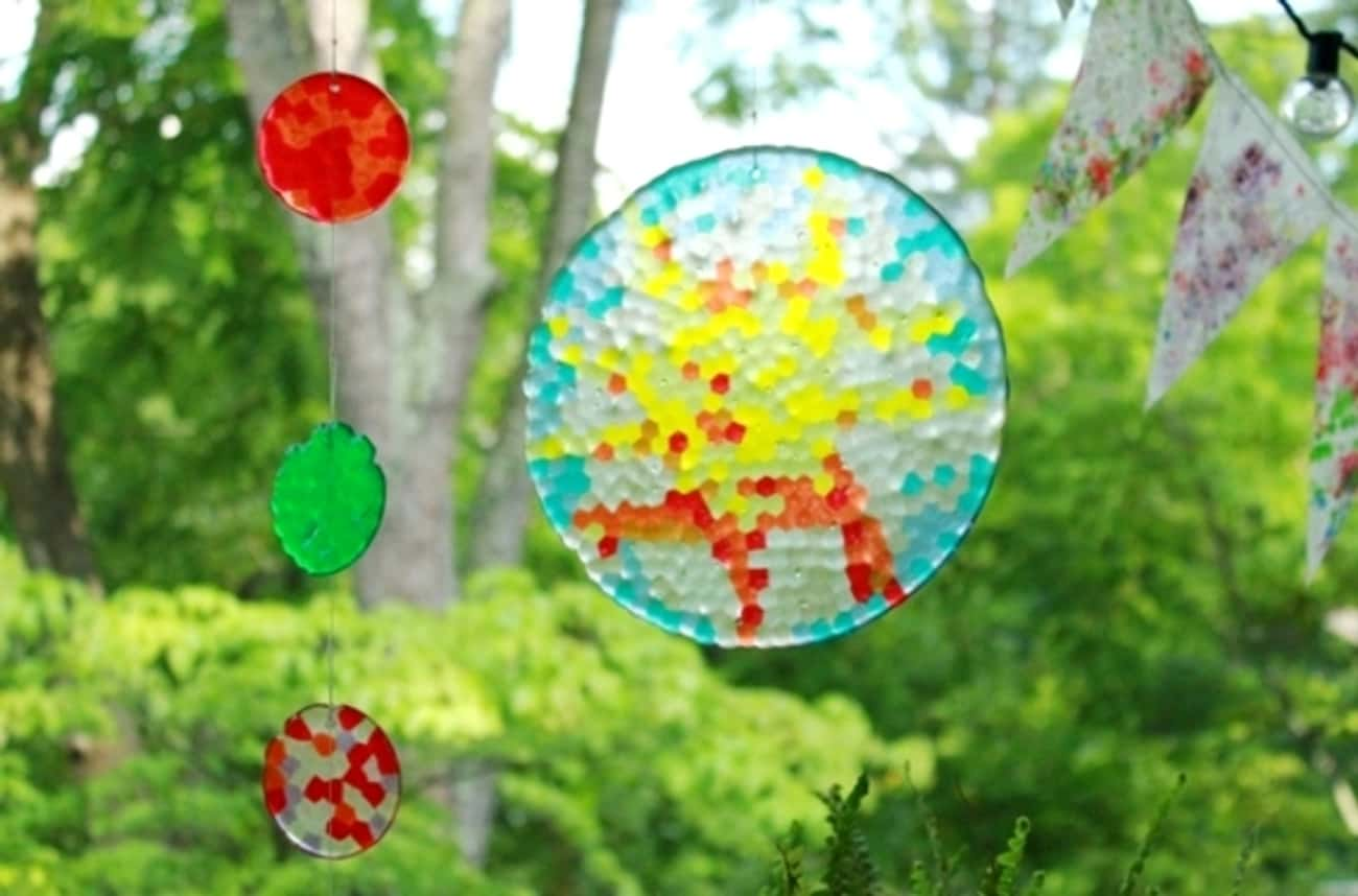 Bead Suncatchers is listed (or ranked) 4 on the list Fun Summer Crafts That'll Keep Your Kids Busy