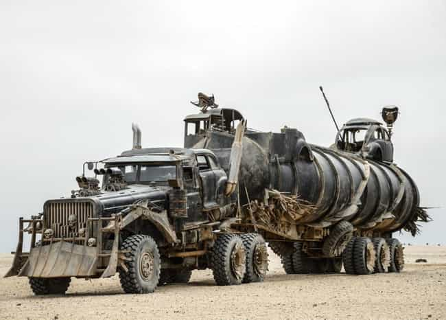 The War Pig is listed (or ranked) 4 on the list Fun Facts About the Awesome Cars in Mad Max: Fury Road
