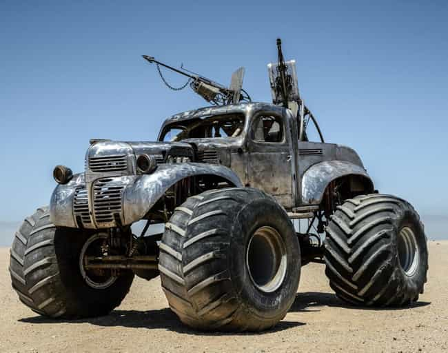 Big Foot is listed (or ranked) 1 on the list Fun Facts About the Awesome Cars in Mad Max: Fury Road