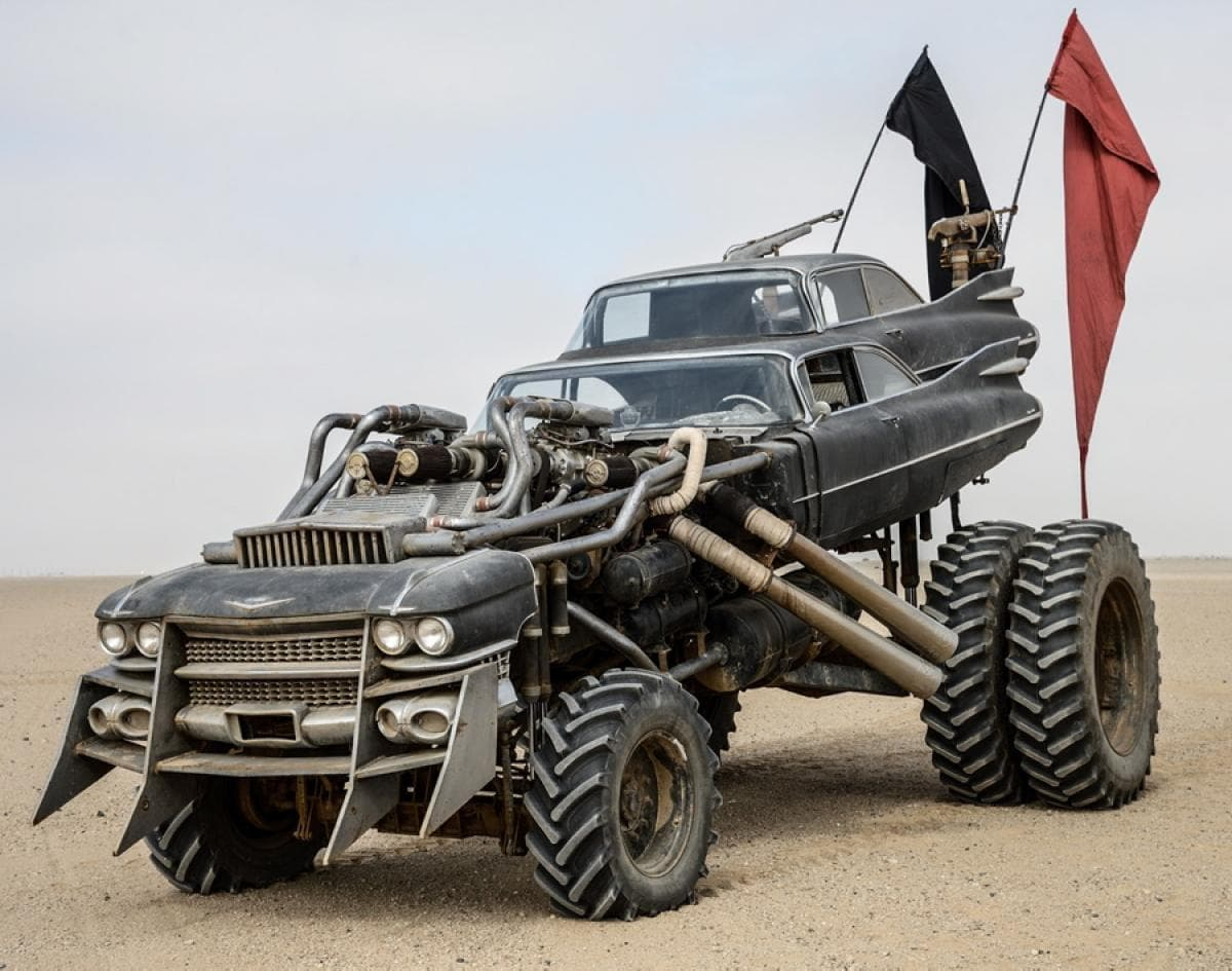 Image of Random Fun Facts About the Awesome Cars in Mad Max: Fury Road