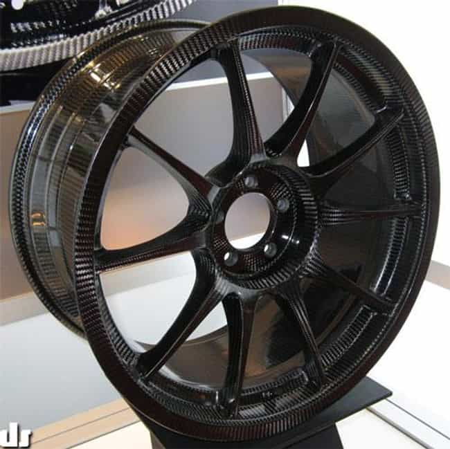 Weds Sport Carbon Fiber ... is listed (or ranked) 2 on the list The Coolest Car Rims for Your Ride