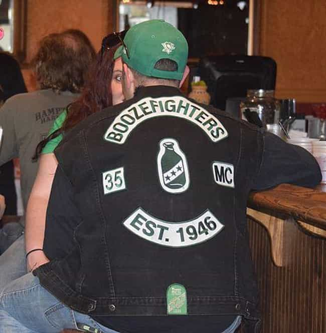 Boozefighters is listed (or ranked) 4 on the list The Most Notorious Biker Gangs in History