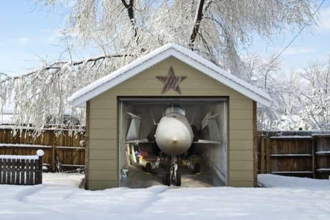 Top Gun: The Garage Door is listed (or ranked) 4 on the list The Most Creative Garage Door Art of All Time