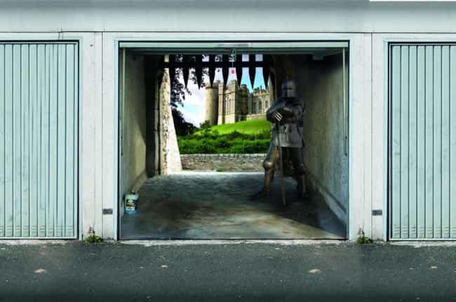 Garage Art  Cool Garages and Garage Doors