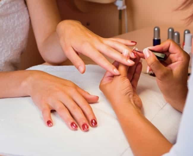 Getting Your Nails Done ... is listed (or ranked) 3 on the list The Most Alarming Effects of Everyday Actions