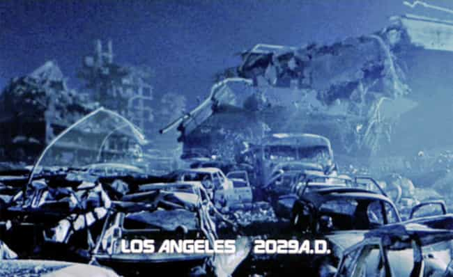 """A Cyborg Holocaust in """"Ter... is listed (or ranked) 4 on the list The Most Epic Ways Los Angeles Was Destroyed on Film"""