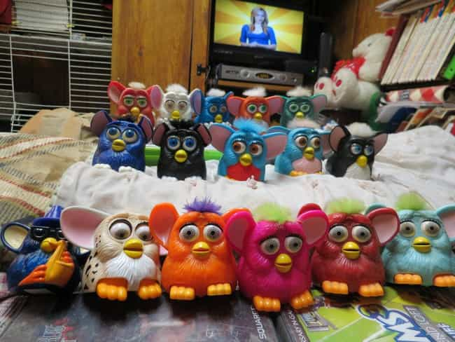 McDonald's Furbies is listed (or ranked) 3 on the list Toys Everyone Had But Nobody Wanted