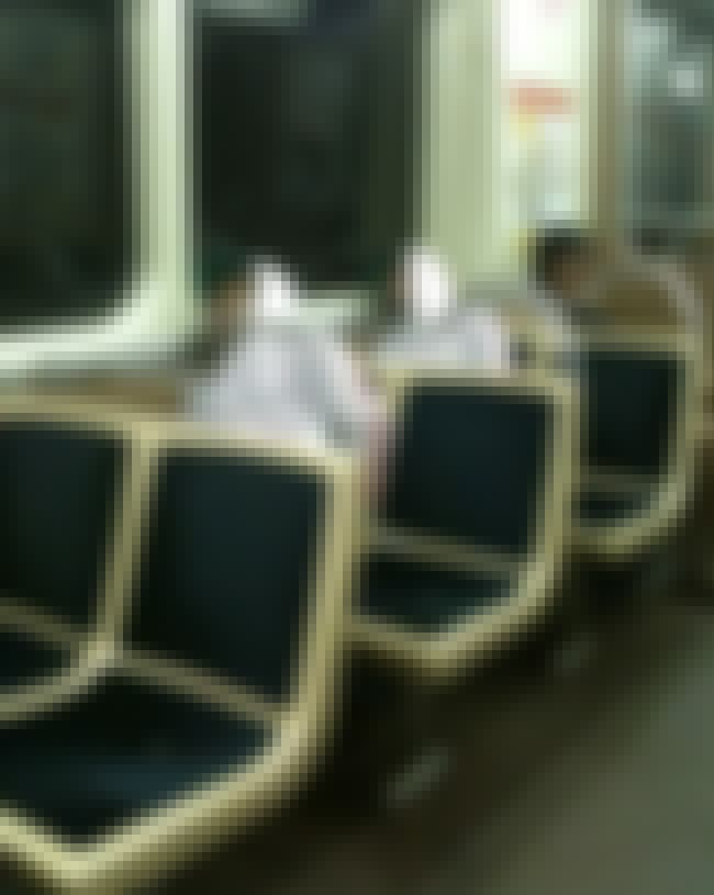 This Matrix Bug on the Bus is listed (or ranked) 2 on the list Mind-Bending Glitch in the Matrix Pictures