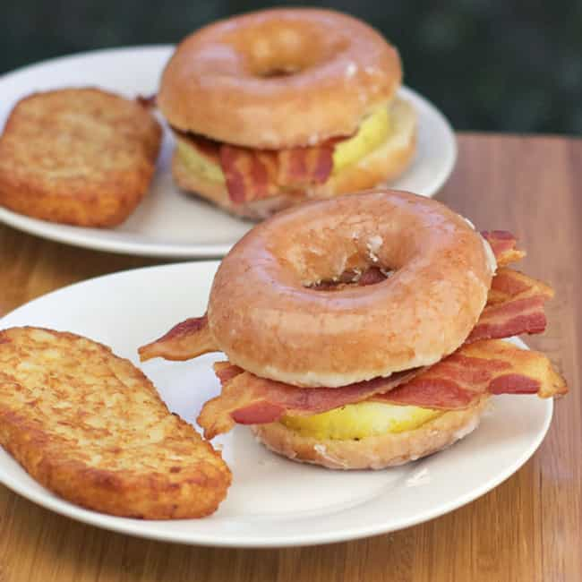 Glazed Donut Breakfast Sandwic... is listed (or ranked) 3 on the list The World's Most Insane (and Delicious) Donut Creations