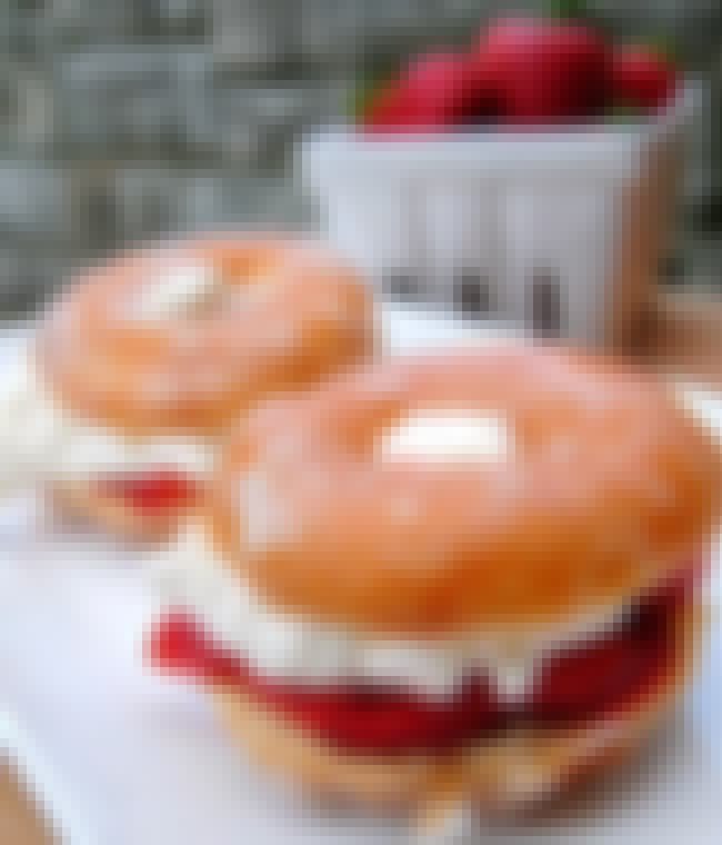Strawberry and Cream Cheese Do... is listed (or ranked) 3 on the list The World's Most Insane (and Delicious) Donut Creations