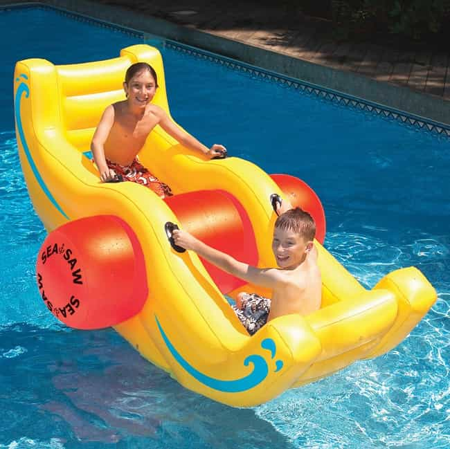 Sea-Saw Water Rocker is listed (or ranked) 3 on the list 30 Fun Pool Toys You Need This Summer