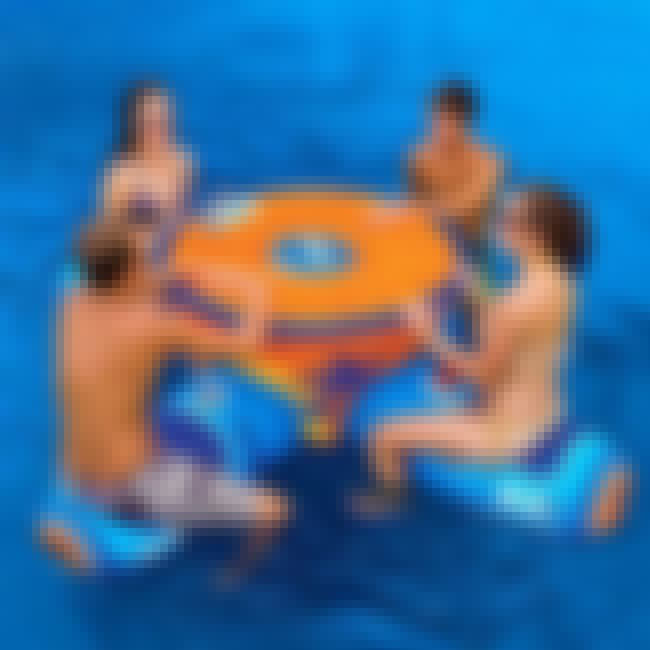 Floating Aqua Table is listed (or ranked) 4 on the list 31 Fun Pool Toys You Need This Summer