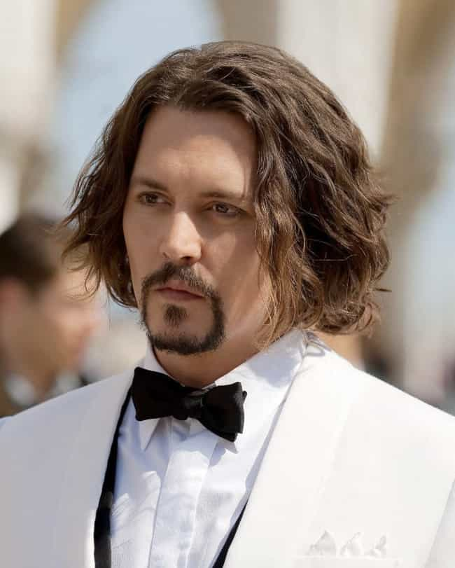 Everyone Looks 10 Pounds Heavi... is listed (or ranked) 4 on the list The Many Terrible Wigs of Johnny Depp