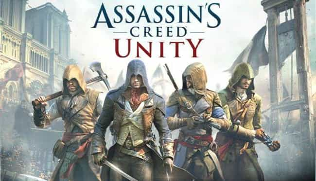 Assassin's Creed: Unity ... is listed (or ranked) 4 on the list Games That Just Didn't Live Up to Their Hype