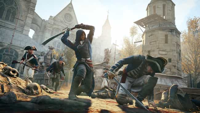 Assassin's Creed: Unity is listed (or ranked) 2 on the list Games That Just Didn't Live Up to Their Hype