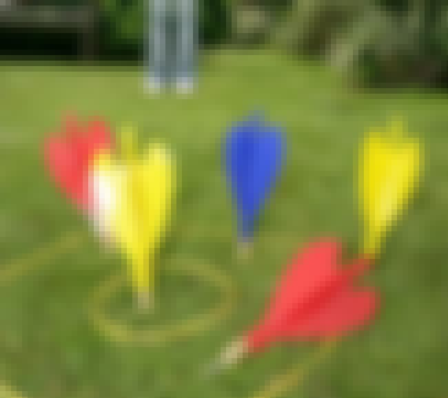 Lawn Darts is listed (or ranked) 4 on the list The Most Dangerous Toys Ever Made