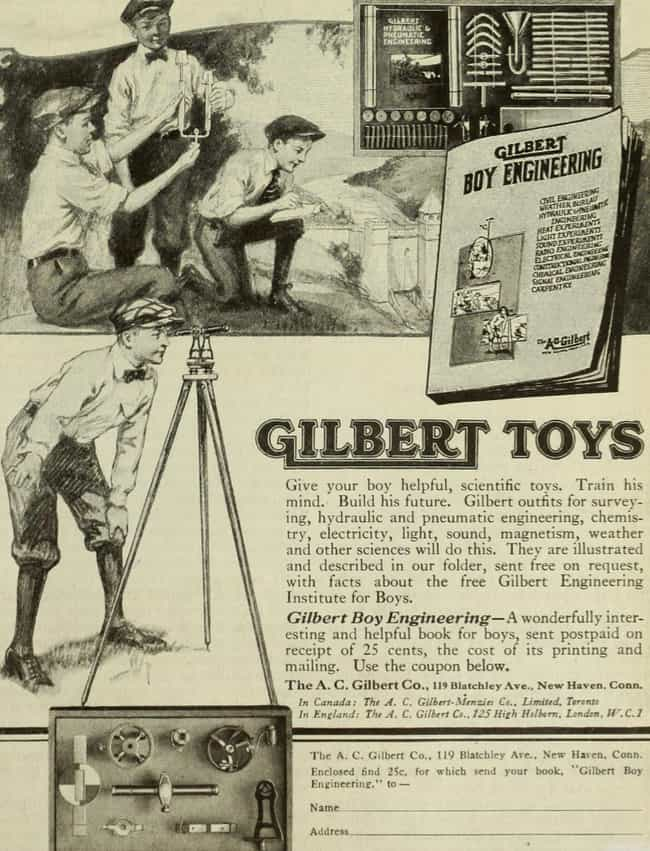 Gilbert Glass Blowing Set is listed (or ranked) 3 on the list The Most Dangerous Toys Ever Made
