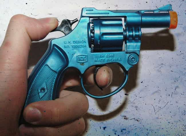 Bat Masterson Derringer Belt Gun