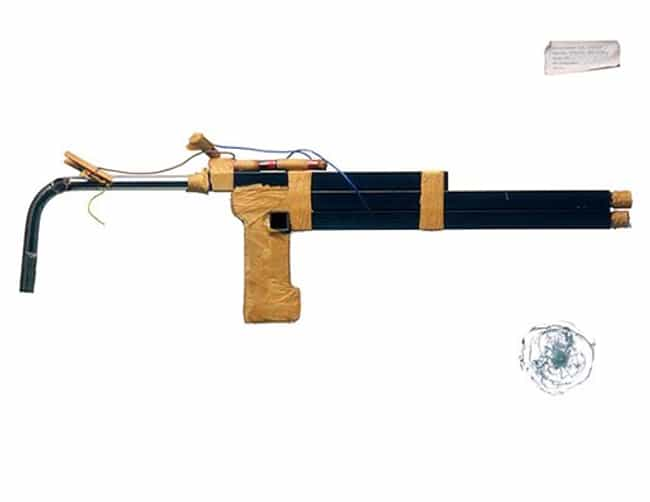Bedpost Shotgun is listed (or ranked) 1 on the list Everyday Objects That Were Turned Into Prison Weapons