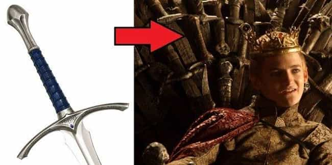 Gandalf's Sword Is in the ... is listed (or ranked) 4 on the list 26 Game of Thrones Easter Eggs Hidden Throughout the Series