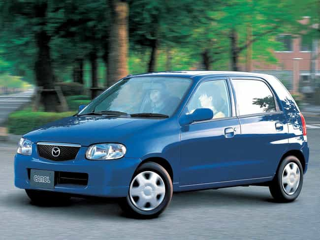 Mazda Carol Me Lady is listed (or ranked) 4 on the list The 29 Funniest Car Names Ever Coined