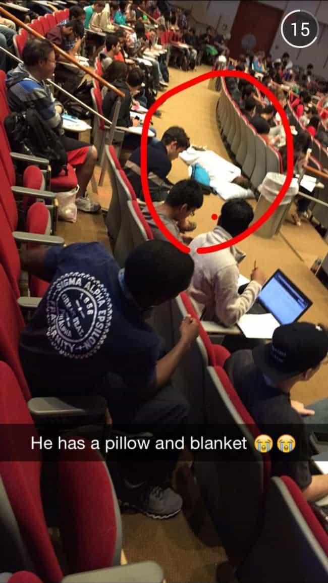This Guy Is a Forward Th... is listed (or ranked) 1 on the list The Greatest Snapchats Sent During Class