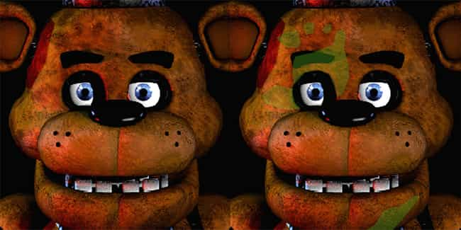 It Looks Like There's A Handpr... is listed (or ranked) 4 on the list 20 Facts You Didn't Know About 'Five Nights At Freddy's'