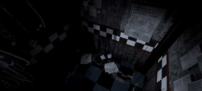 Newspaper Clippings Tell Us Ab... is listed (or ranked) 2 on the list 20 Facts You Didn't Know About 'Five Nights At Freddy's'
