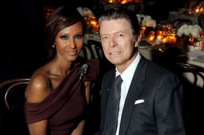 David Bowie and Iman is listed (or ranked) 2 on the list Celebrity Couples We Wish We Knew More About