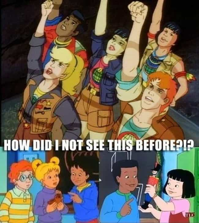 MindBlowing Fan Theories About S Cartoons - Depressing look happened favourite 90s cartoon characters