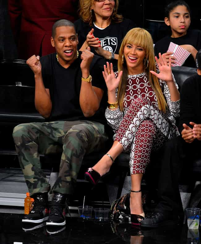 Jay Z and Beyonce is listed (or ranked) 1 on the list Celebrity Couples We Wish We Knew More About