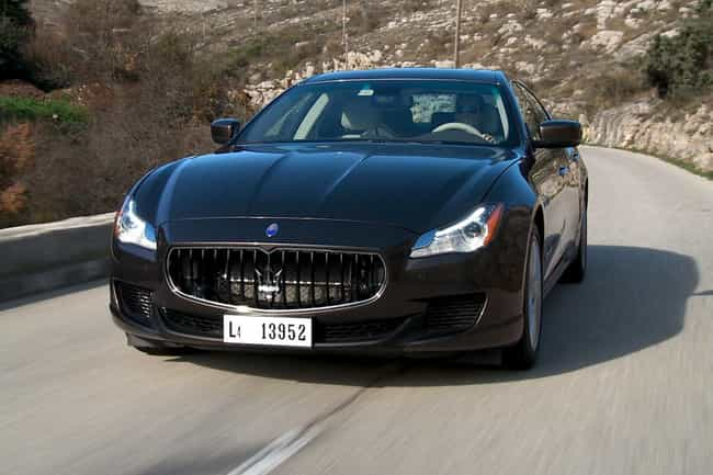 maserati quattroporte wifi h is listed or ranked 3 on