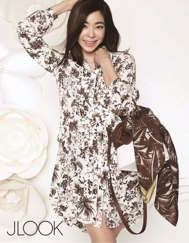 Lee Hyeyoung's Dress is listed (or ranked) 2 on the list KPop Stars Wearing the Same Clothes