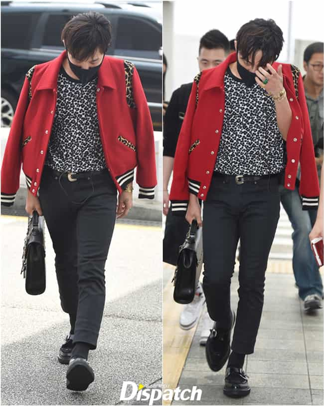 GD's Jacket is listed (or ranked) 3 on the list KPop Stars Wearing the Same Clothes