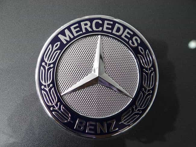 Mercedes-Benz is listed (or ranked) 4 on the list The Best Car Logos Ever Designed
