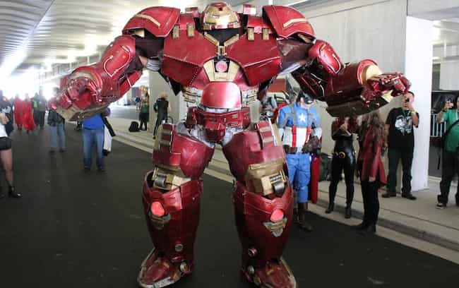 Hulkbuster is listed (or ranked) 2 on the list Cosplayers Who Stepped Right Out of the Comics