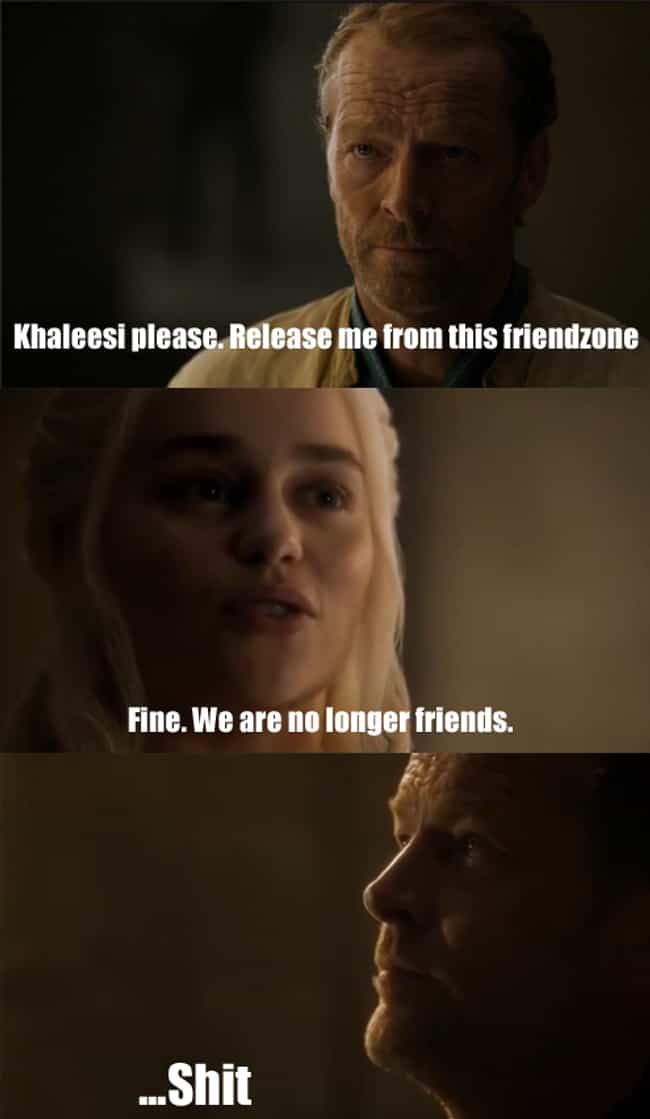 Ultimate Backfire is listed (or ranked) 3 on the list Jorah Mormont's Life In The Friendzone